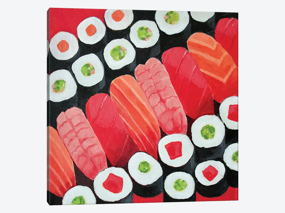 Sushi by Toni Silber-Delerive 1-piece Canvas Wall Art