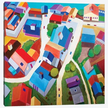 Tokyo Suburb Canvas Print #TSD63} by Toni Silber-Delerive Canvas Artwork