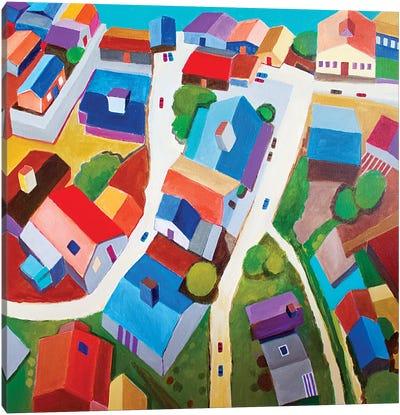 Tokyo Suburb Canvas Art Print