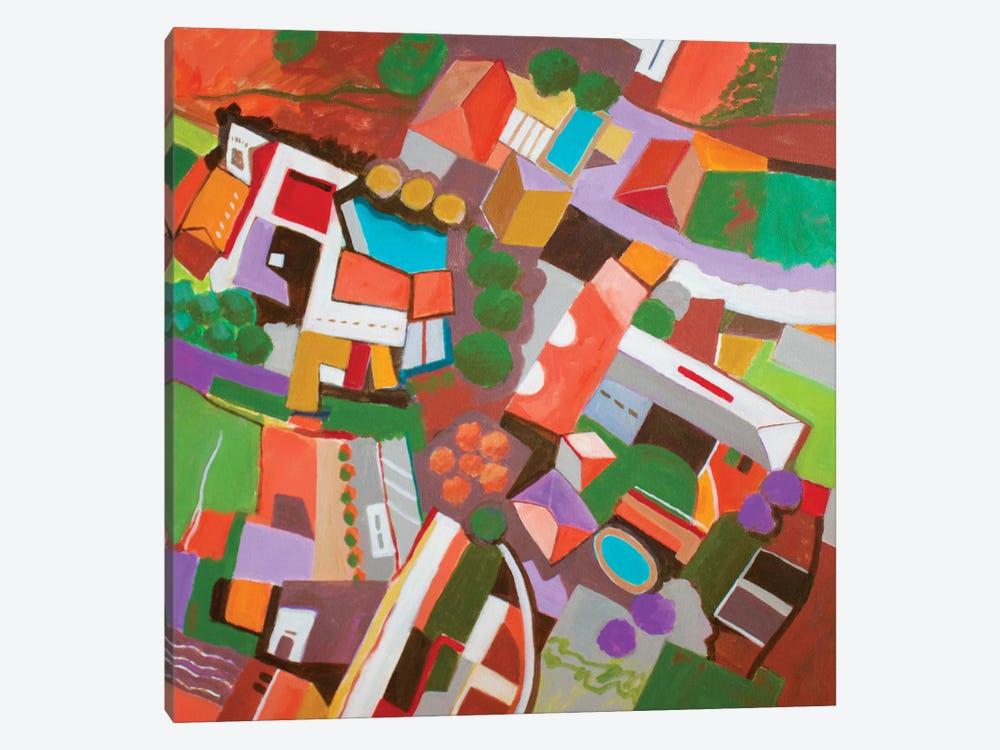 Bala Cynwyd, PA by Toni Silber-Delerive 1-piece Canvas Wall Art