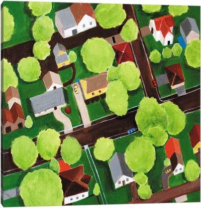 Jackson County Canvas Art Print
