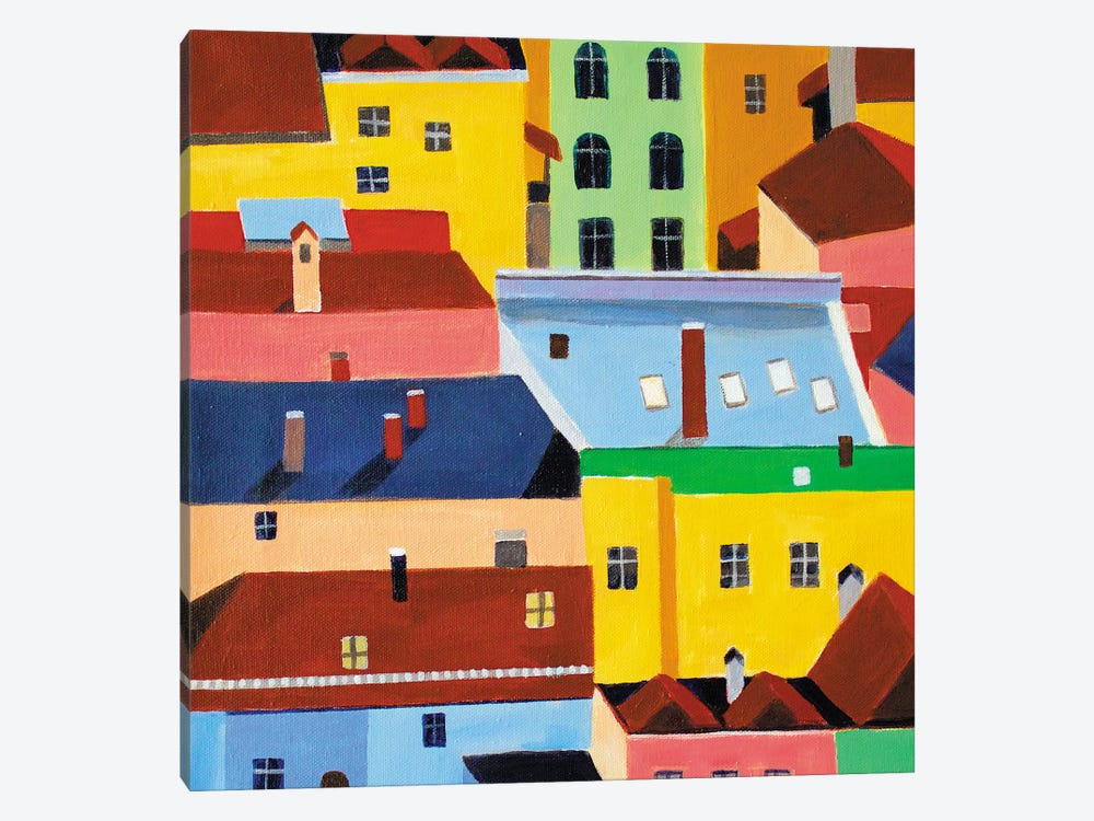 Munich by Toni Silber-Delerive 1-piece Canvas Wall Art