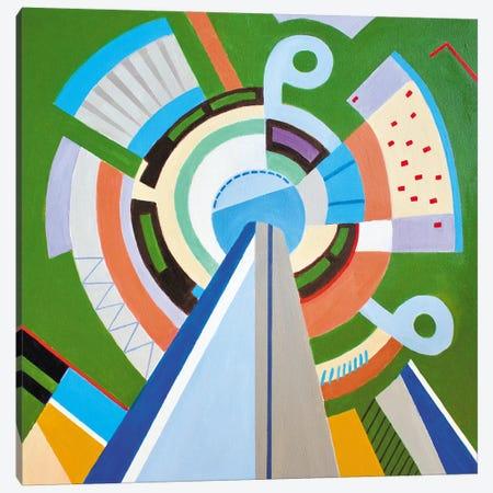 Pudong, Shanghai Canvas Print #TSD78} by Toni Silber-Delerive Art Print