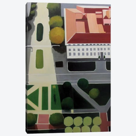 Bancroft Library Canvas Print #TSD7} by Toni Silber-Delerive Canvas Art Print