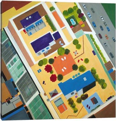 Soho NYC Roof Top Canvas Art Print