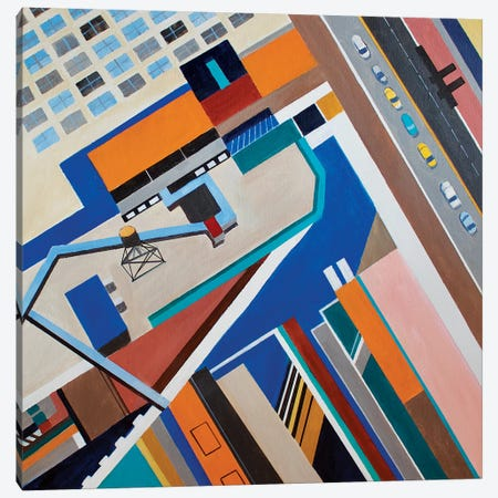 34th Street, NYC Canvas Print #TSD85} by Toni Silber-Delerive Art Print
