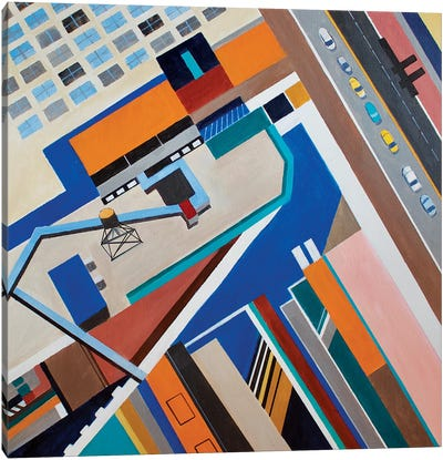 34th Street, NYC Canvas Art Print
