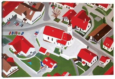 Bavarian Village Canvas Art Print