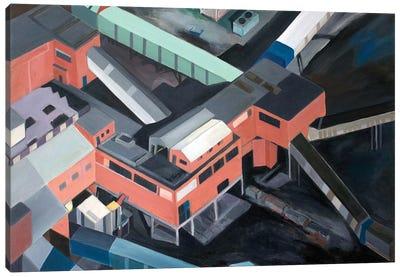 Nottingshire Coal Mine Canvas Art Print