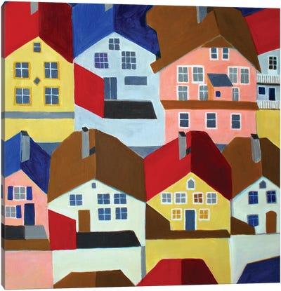 Bergen. Norway Canvas Art Print