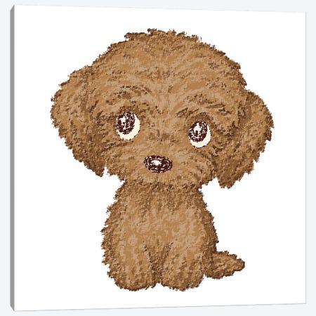 Toy-Poodle Canvas Print #TSG146} by Toru Sanogawa Art Print