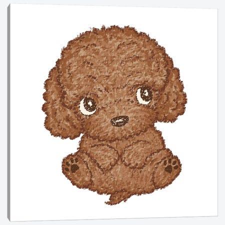Toy-Poodle Cute Canvas Print #TSG147} by Toru Sanogawa Canvas Art Print