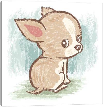 Chihuahua Look Back Canvas Art Print