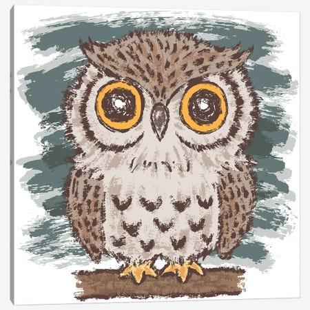Owl Canvas Print #TSG82} by Toru Sanogawa Canvas Art Print