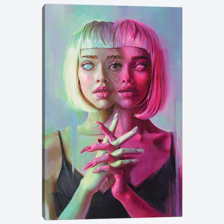 Double Canvas Print #TSH101} by Eva Gamayun Canvas Wall Art