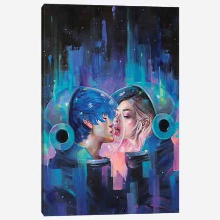 Spherical Love in the Void Canvas Print #TSH102} by Eva Gamayun Canvas Artwork