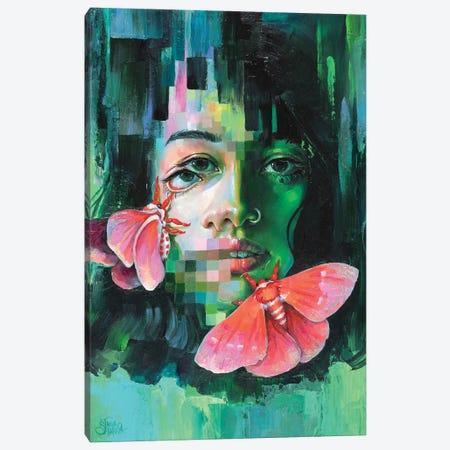 Chroma Key Canvas Print #TSH105} by Eva Gamayun Art Print