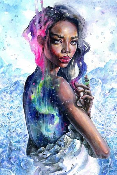 Northern Lights Canvas Art Print By Tanya Shatseva Icanvas
