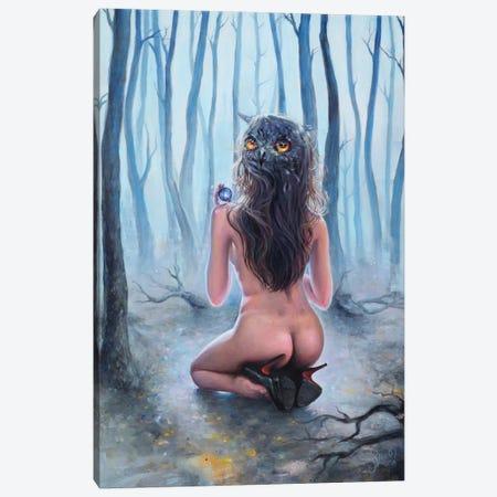 Owl Canvas Print #TSH12} by Tanya Shatseva Canvas Art Print