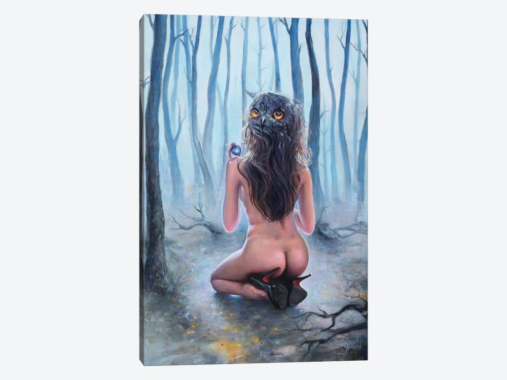 Owl by Tanya Shatseva 1-piece Canvas Art