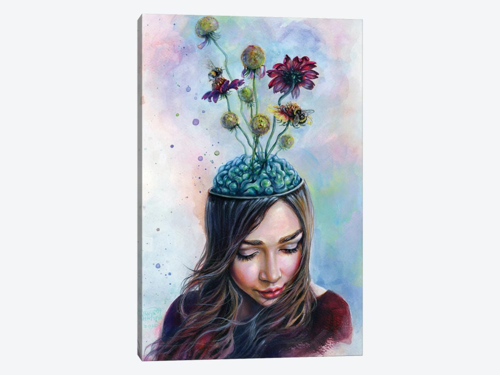 Pollination by Tanya Shatseva 1-piece Canvas Wall Art