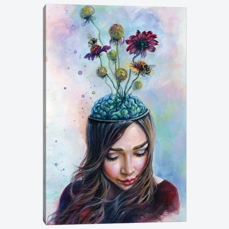 Pollination Canvas Print #TSH14} by Tanya Shatseva Canvas Wall Art