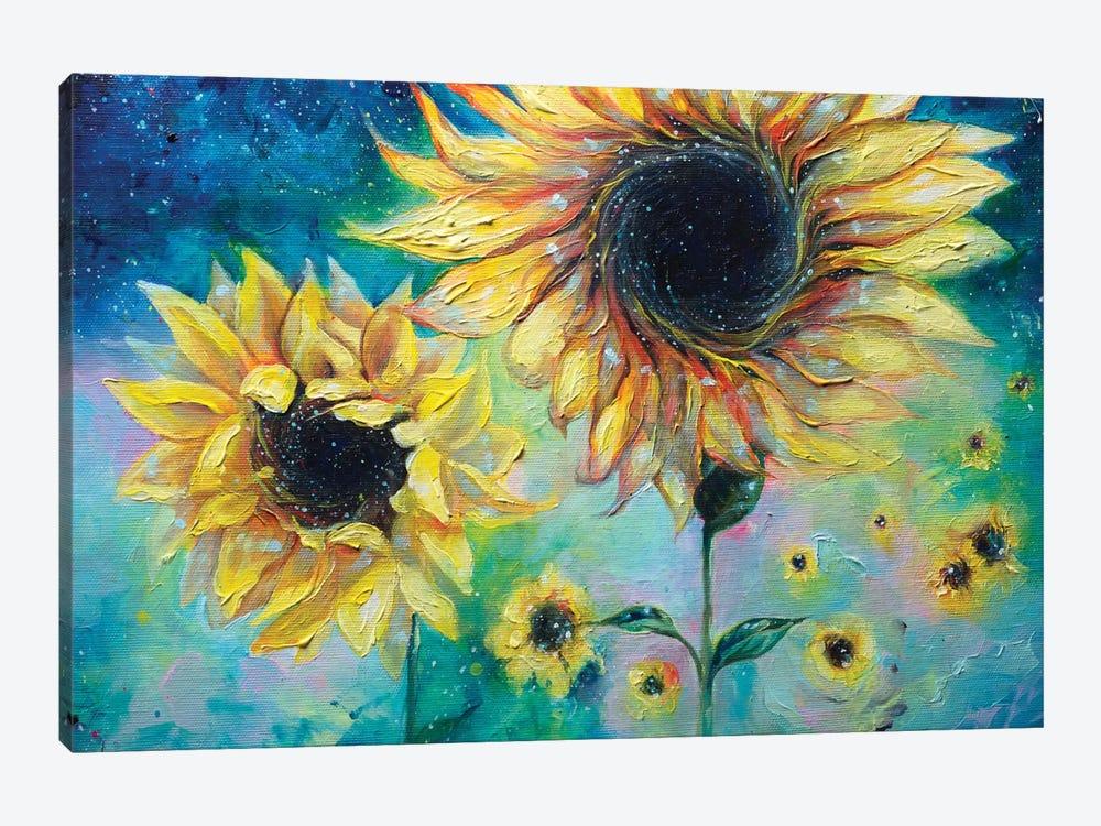 Supermassive Sunflowers by Tanya Shatseva 1-piece Canvas Artwork