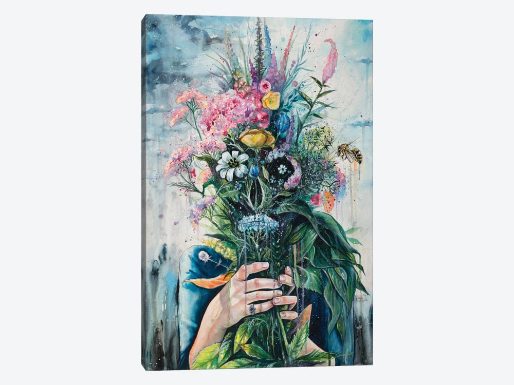 The Last Flowers by Tanya Shatseva 1-piece Canvas Art Print