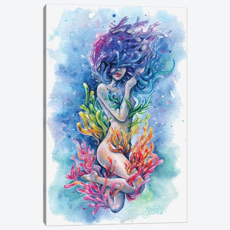 Aura Canvas Print #TSH1} by Tanya Shatseva Canvas Artwork