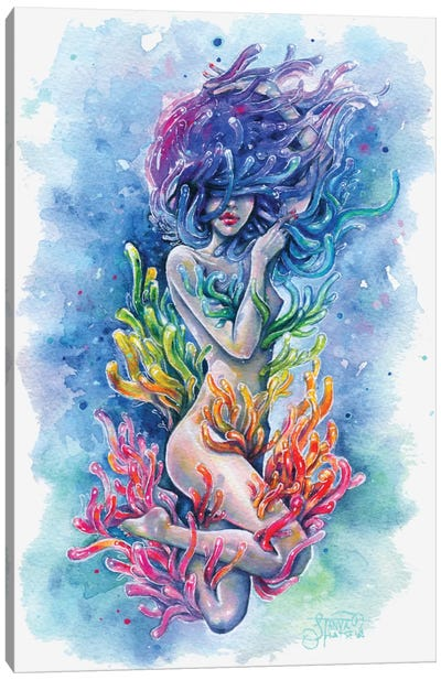 Aura Canvas Art Print