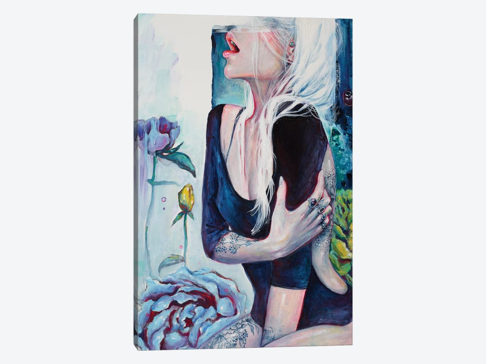 Her Garden 1-piece Canvas Artwork