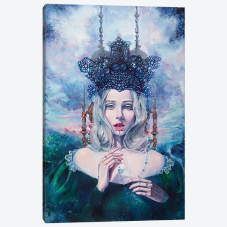 Self-Crowned Canvas Print #TSH22} by Tanya Shatseva Canvas Wall Art