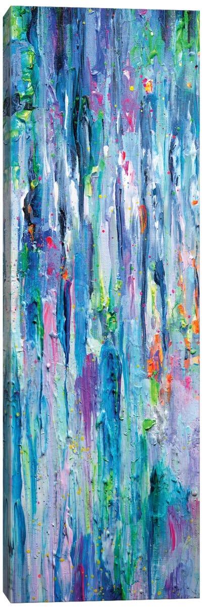 Silver Rain Canvas Art Print