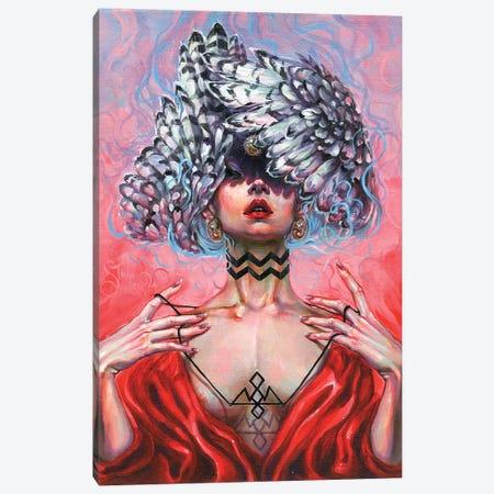 Black Lodge Canvas Print #TSH25} by Tanya Shatseva Art Print
