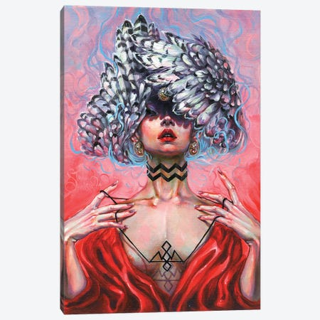 Black Lodge Canvas Print #TSH25} by Tanya Shatseva Art Print