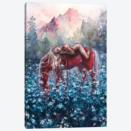 Epona Canvas Print #TSH27} by Tanya Shatseva Canvas Art Print