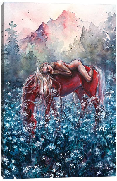 Epona Canvas Art Print