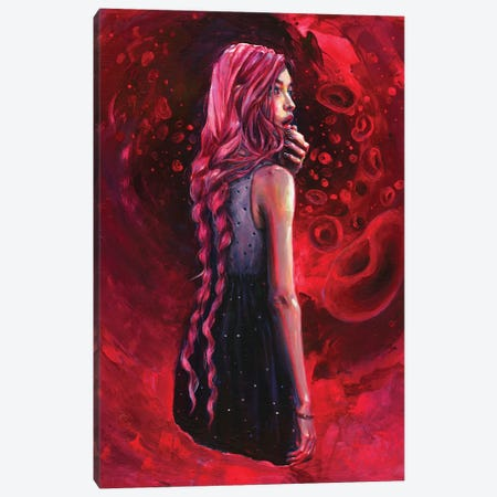 Soul Searching Canvas Print #TSH33} by Tanya Shatseva Canvas Art Print