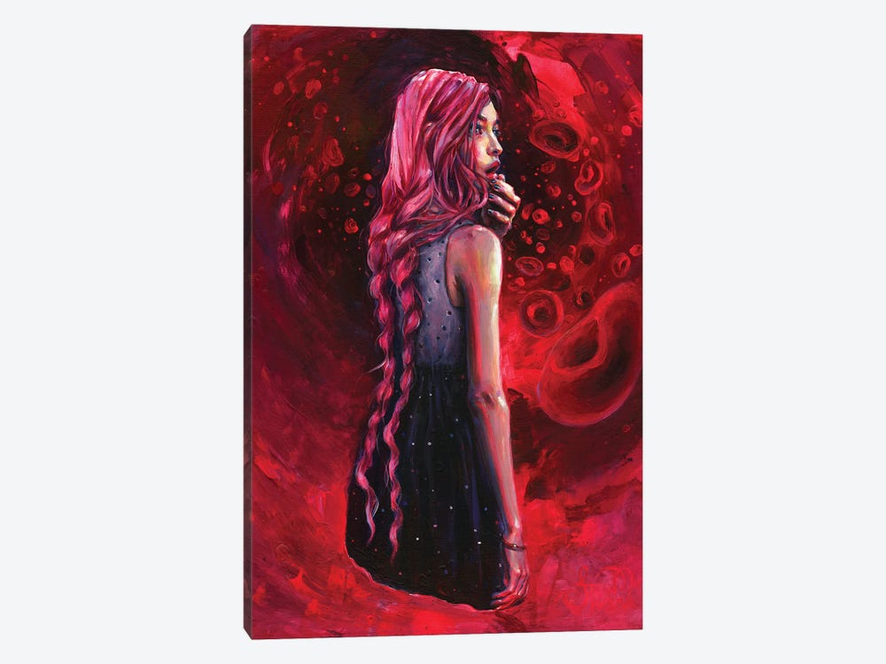 Soul Searching by Tanya Shatseva 1-piece Canvas Print