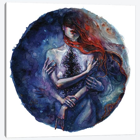 Tamaryn Canvas Print #TSH35} by Tanya Shatseva Canvas Art