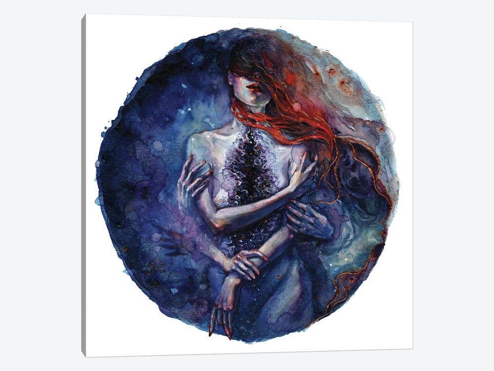 Tamaryn by Tanya Shatseva 1-piece Canvas Art Print