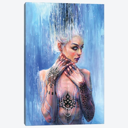 The Mirror Of Reason Canvas Print #TSH36} by Tanya Shatseva Canvas Art