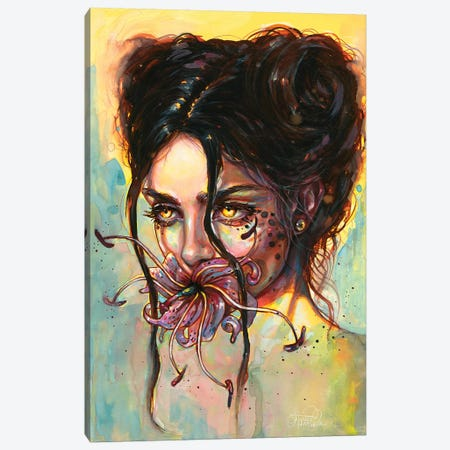 Wildflower 3-Piece Canvas #TSH38} by Tanya Shatseva Canvas Art Print