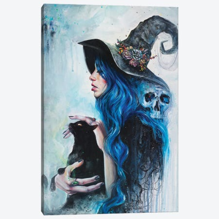 Blue Valentine Canvas Print #TSH3} by Tanya Shatseva Canvas Art