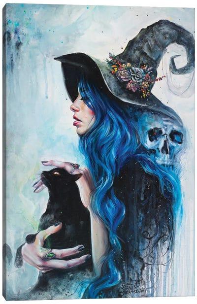 Blue Valentine Canvas Print #TSH3