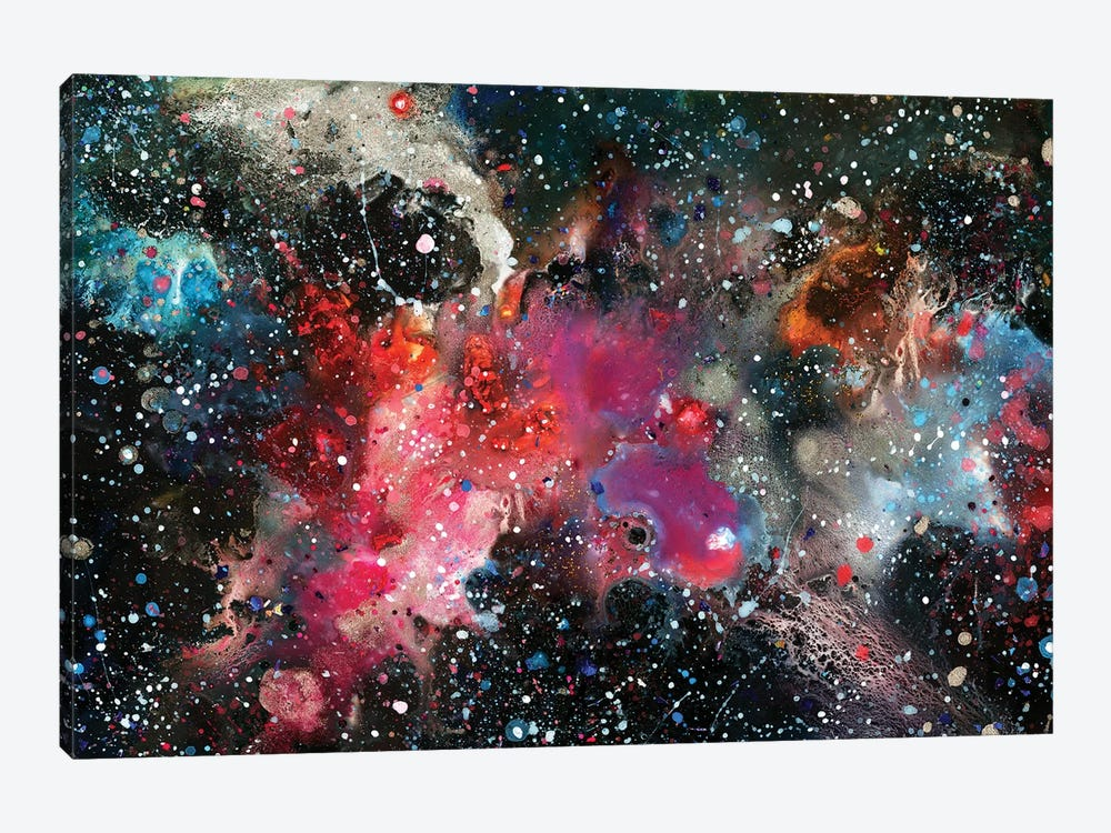 Chemistry Of Nothing by Tanya Shatseva 1-piece Canvas Wall Art