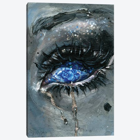 Gzhel Canvas Print #TSH43} by Tanya Shatseva Canvas Wall Art