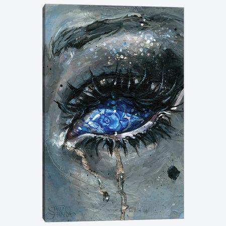 Gzhel Canvas Print #TSH43} by Eva Gamayun Canvas Wall Art