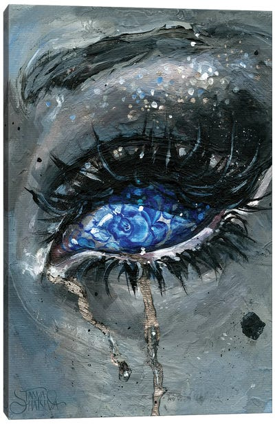 Gzhel Canvas Art Print