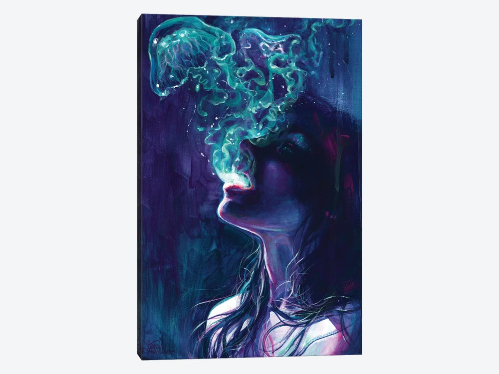 The Ghostmaker by Tanya Shatseva 1-piece Canvas Print